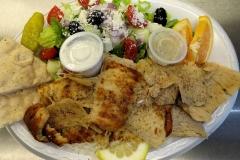 Chicken Gyros Plate